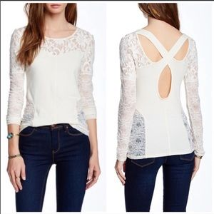 NWT Free People Sweet Thang Blouse size S